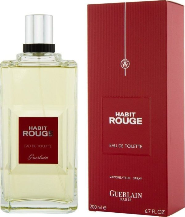 Guerlain Habit Rouge Eau De Toilette - 200 ml